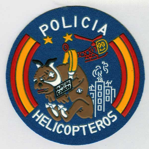 Parche Helicopteros CNP