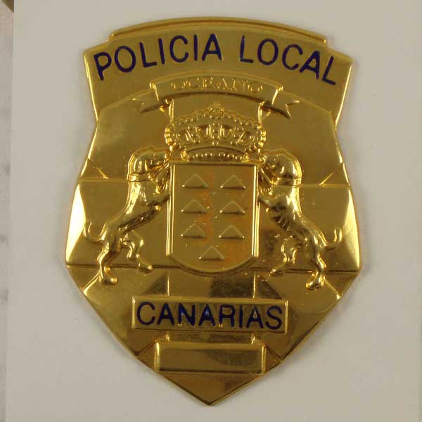 4 - Placa-Insignia de la Policía Local Canaria
